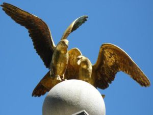 """""""Seagull Monument"""" in Temple Square, Salt Lake City"""