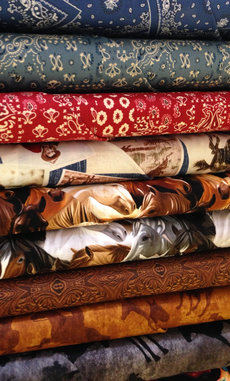 Fabric at Main St. Quilting, Bozeman