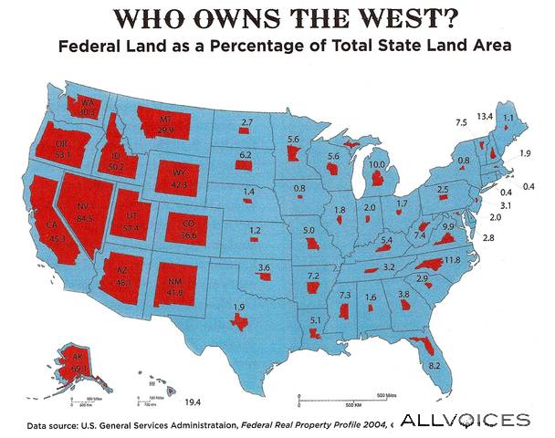 Map-of-Federal-Government-Land-Ownership