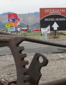 Billboards for housing units in Herriman