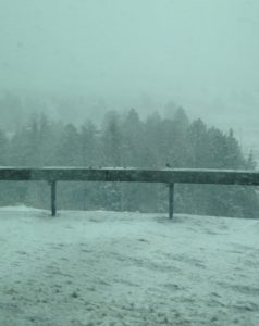 Interstate 80, Wyoming in May