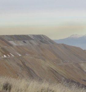 Rio Tinto's Kennecott mine looms over Salt Lake valley