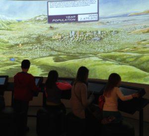 Children at the Natural History Museum of Utah